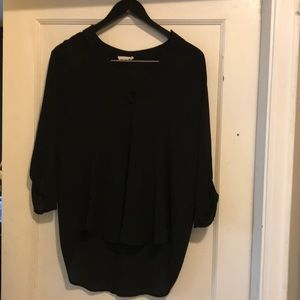 Lush blouse, 3/4 sleeve with button